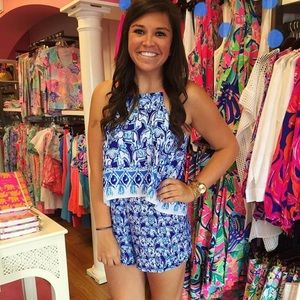 Lilly Get Trunky Romper! Perfect condition